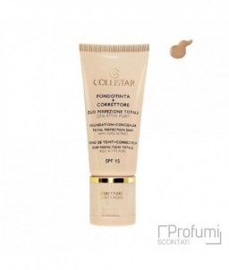 Collistar Foundation + Concealer Duo Total Perfection With Active Puri N31 Nud