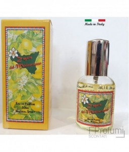 Zagara Perfume Man Woman Of The Mediterranean Citrus Siciliani Edp 50 Ml