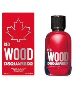 Profumo Donna Rosso Dsquared 2 Red Wood EDT 100 ml